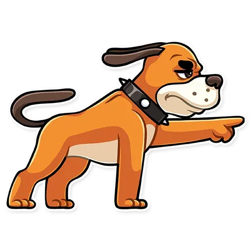 Hound Dog - Sticker 13
