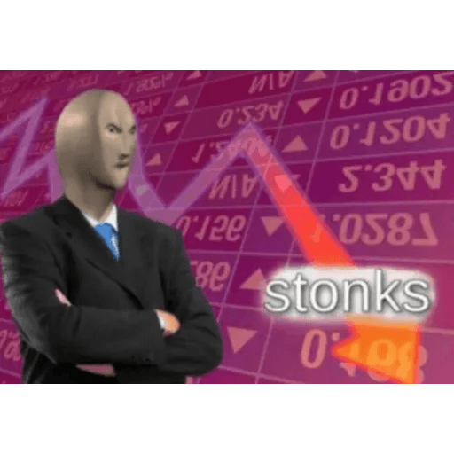 Stonks 1 - Sticker 3