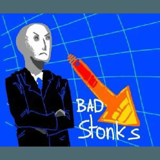Stonks 1 - Sticker 25