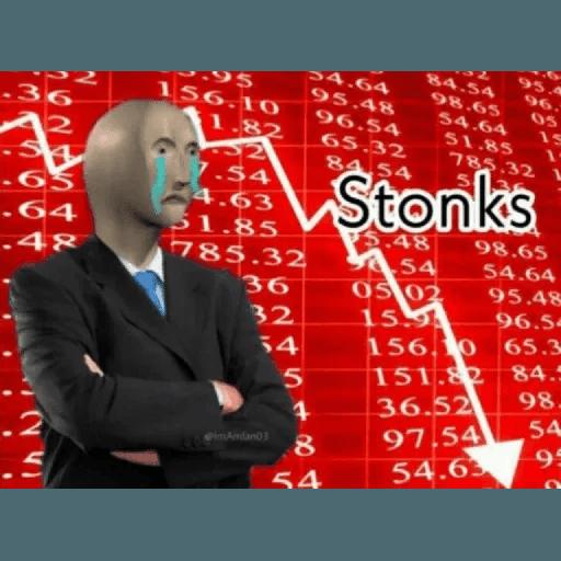 Stonks 1 - Sticker 30