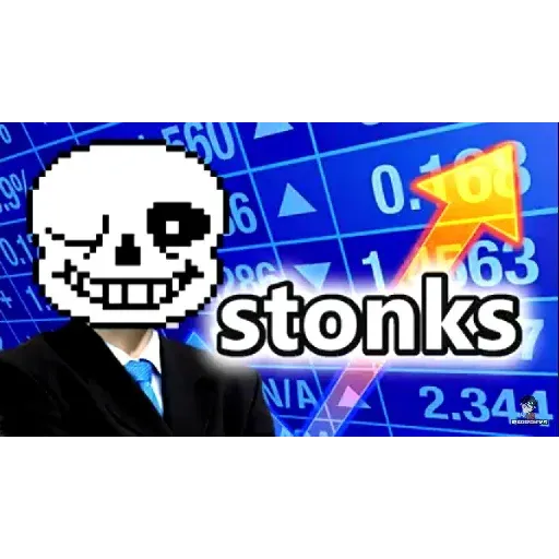 Stonks 1 - Sticker 27