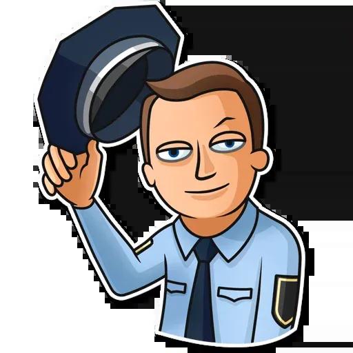 Police - Sticker 1