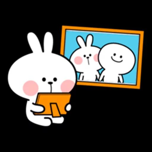 Spoiled rabbit 眼望望版 2 - Sticker 12