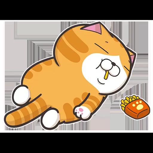 Lazycat-25n - Sticker 1