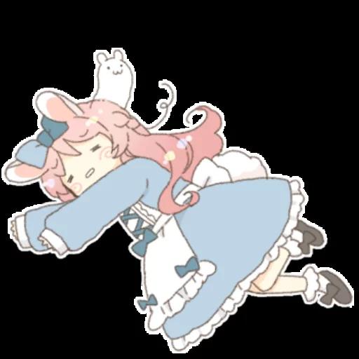 Rabbit Ear Girl Rosy - Sticker 27