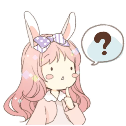 Rabbit Ear Girl Rosy - Sticker 16