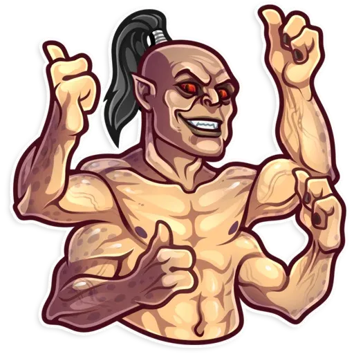 Mortal Kombat - Sticker 3