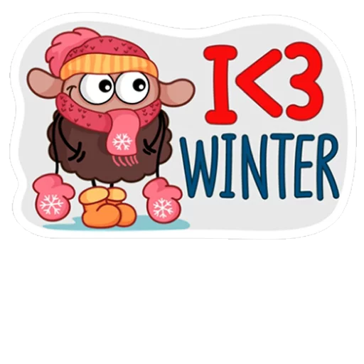Winter - Sticker 14