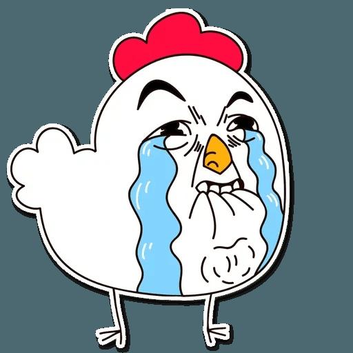 Chicken - Sticker 2