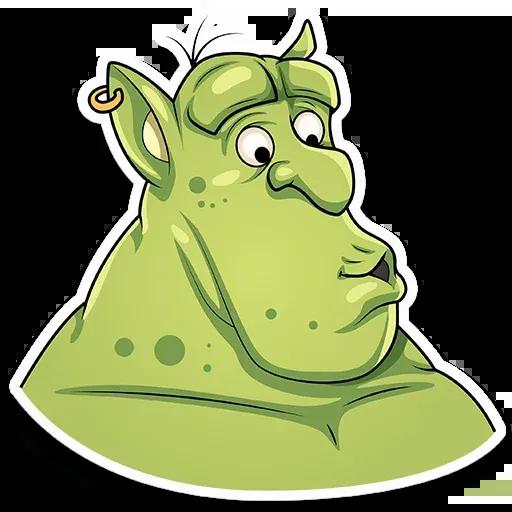 Orc Frank - Sticker 2
