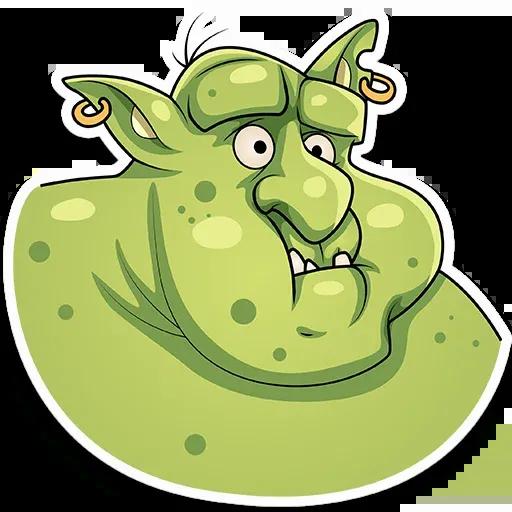 Orc Frank - Sticker 7