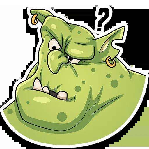 Orc Frank - Sticker 5