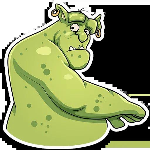 Orc Frank - Sticker 6
