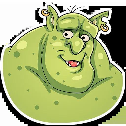 Orc Frank - Sticker 8