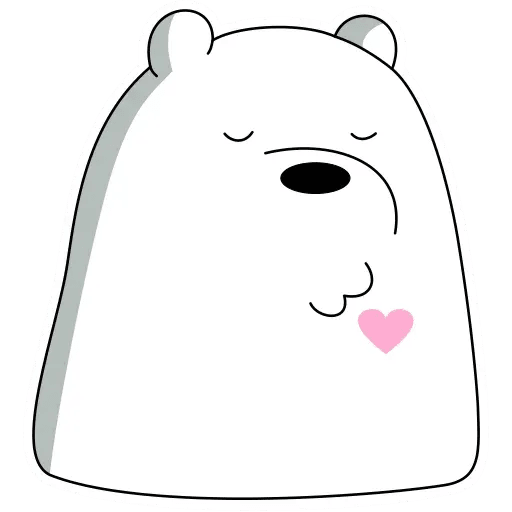 Ice Bear - Sticker 20
