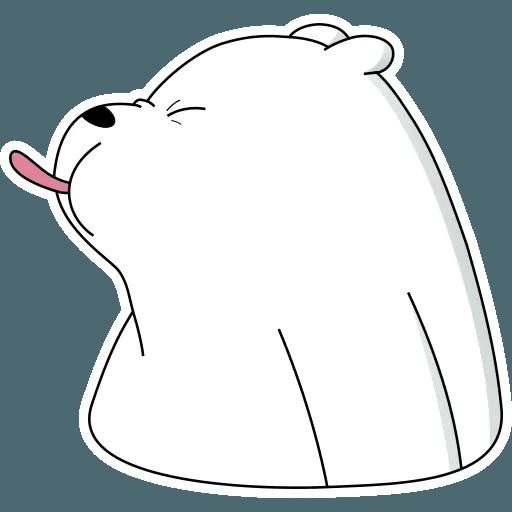 Ice Bear - Sticker 2