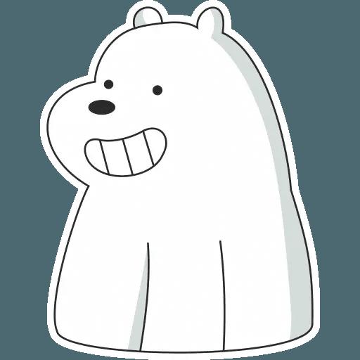 Ice Bear - Sticker 23