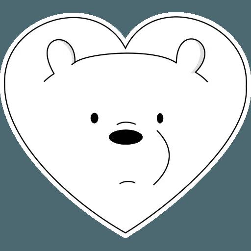 Ice Bear - Sticker 3
