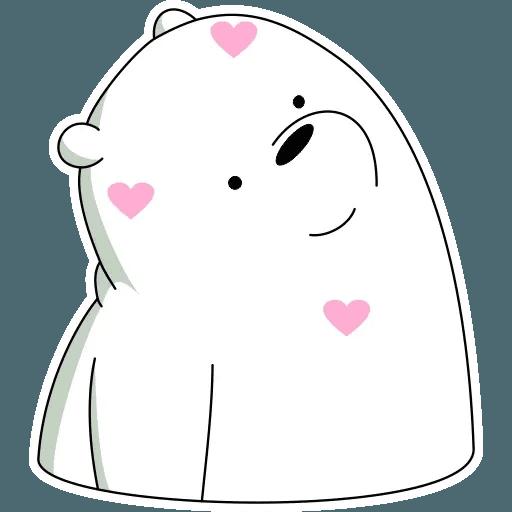 Ice Bear - Sticker 4