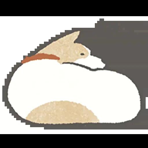 Lazy dog 1 - Sticker 2