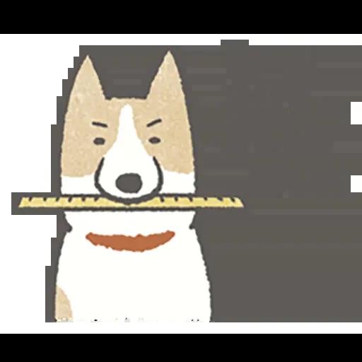Lazy dog 1 - Sticker 22