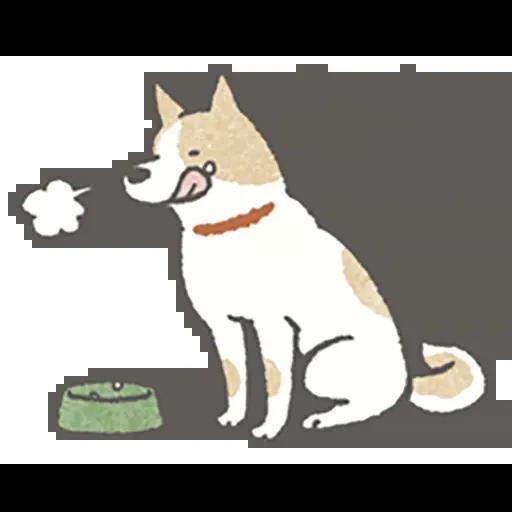 Lazy dog 1 - Sticker 18