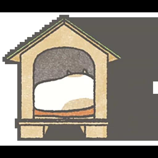 Lazy dog 1 - Sticker 13