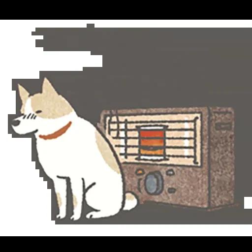 Lazy dog 1 - Sticker 21