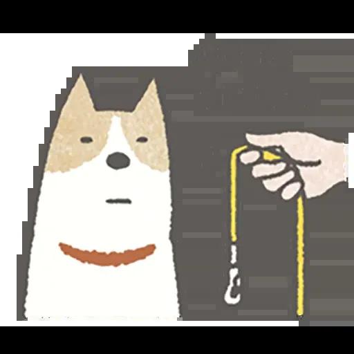 Lazy dog 1 - Sticker 4