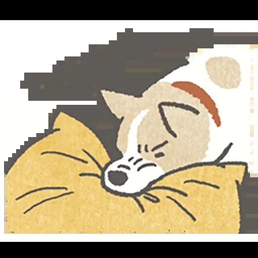Lazy dog 1 - Sticker 29