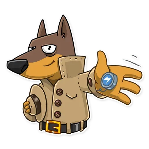Spy Dog - Sticker 9