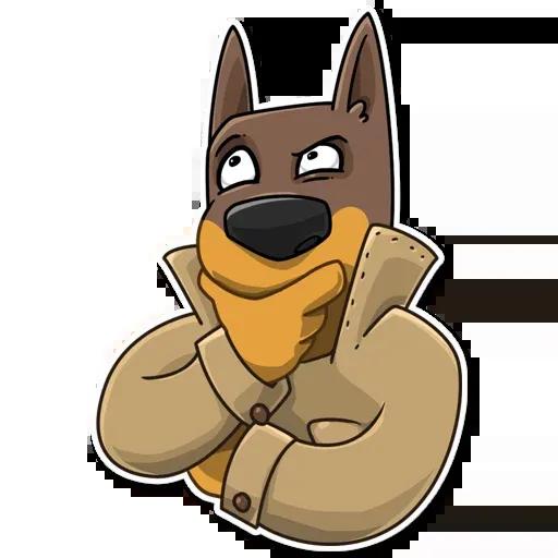 Spy Dog - Sticker 25