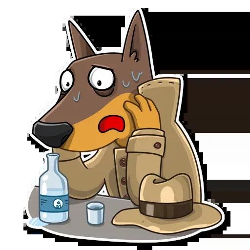 Spy Dog - Sticker 14