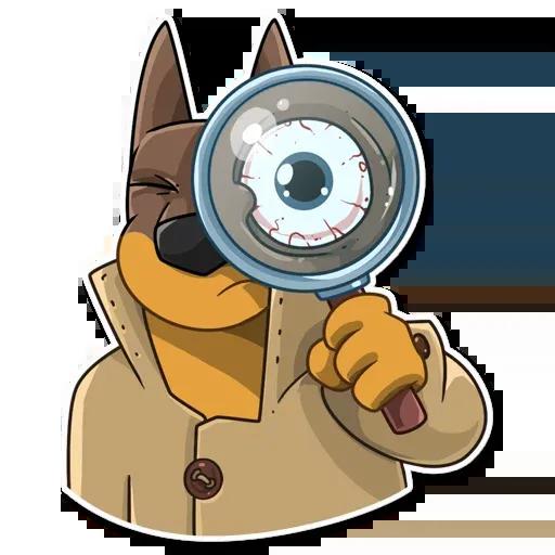 Spy Dog - Sticker 30
