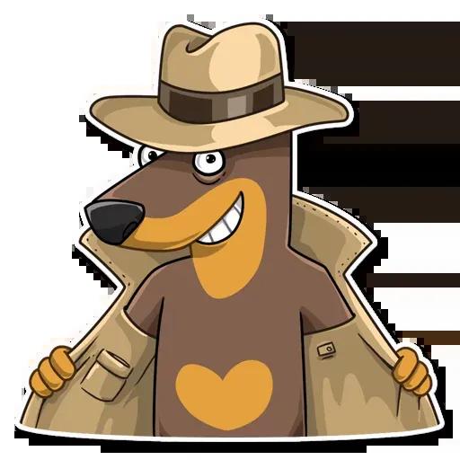 Spy Dog - Sticker 6