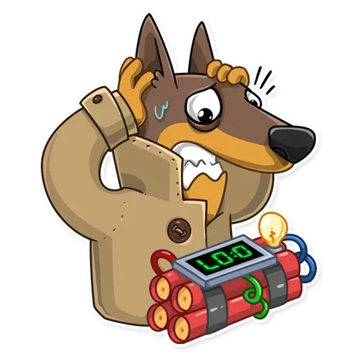 Spy Dog - Sticker 4