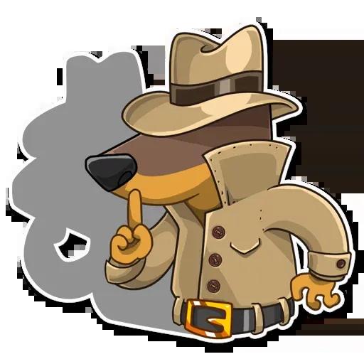 Spy Dog - Sticker 7