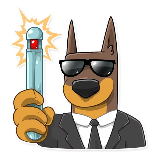 Spy Dog - Sticker 1