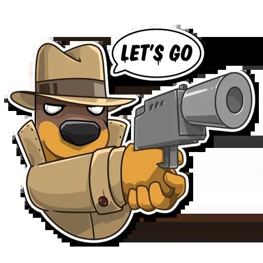 Spy Dog - Sticker 16
