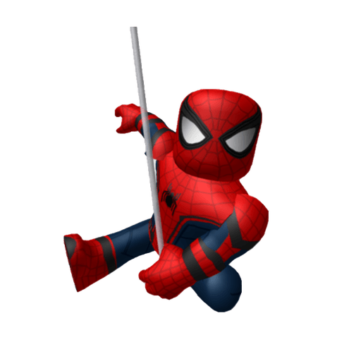 Roblox spider-man - Tray Sticker