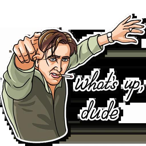 Nicolas Cage - Sticker 16