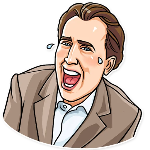 Nicolas Cage - Sticker 4