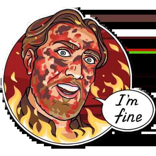Nicolas Cage - Sticker 18