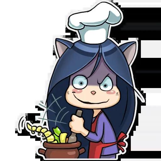 Kitty The Witch - Sticker 22
