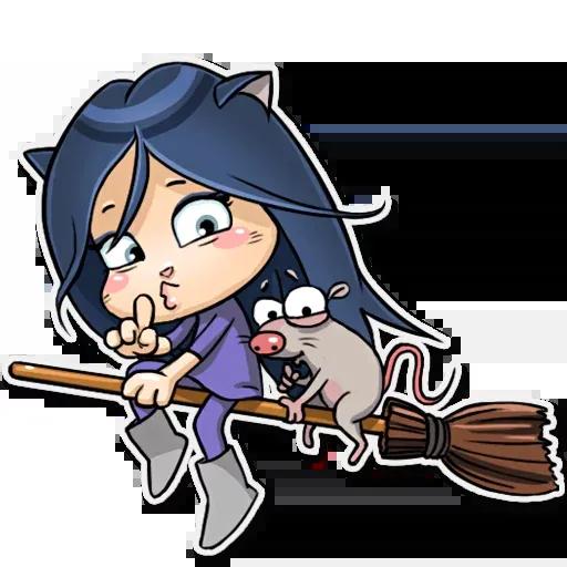 Kitty The Witch - Sticker 8