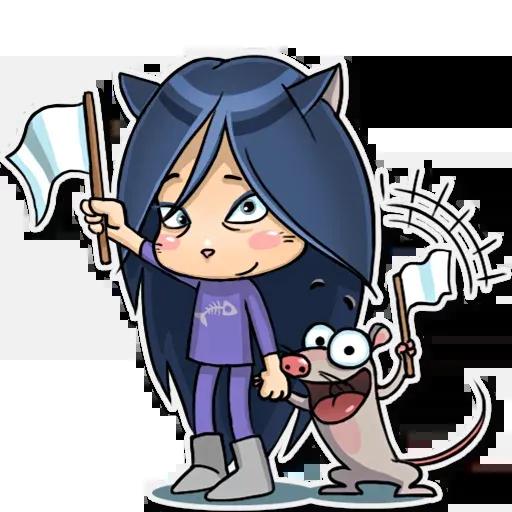 Kitty The Witch - Sticker 15
