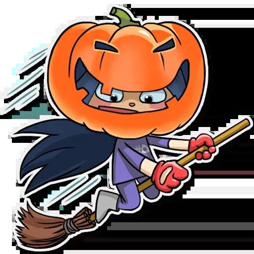 Kitty The Witch - Sticker 6