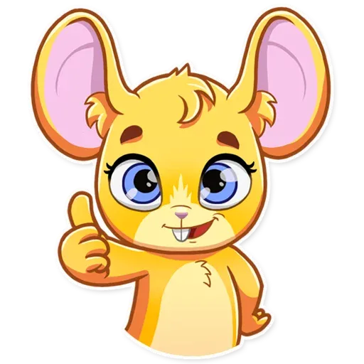 Little Mouse - Sticker 3