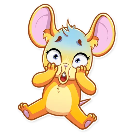 Little Mouse - Sticker 4