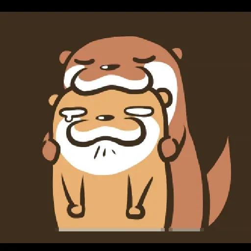 Otter Kotsumetti3.2 - Sticker 7